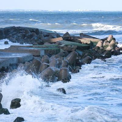 「房総半島(外房)の海」の写真素材