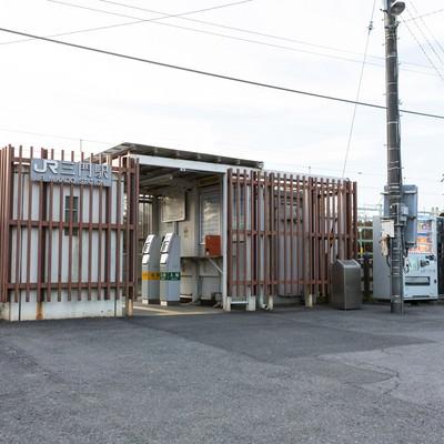 「千葉県いすみ市三門駅(JR外房線)」の写真素材