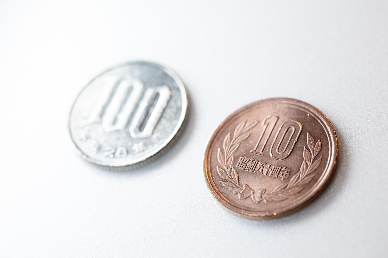 「消費税増税スタートで110円に」の写真