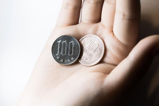 お会計税込み(10%)110円です。の写真