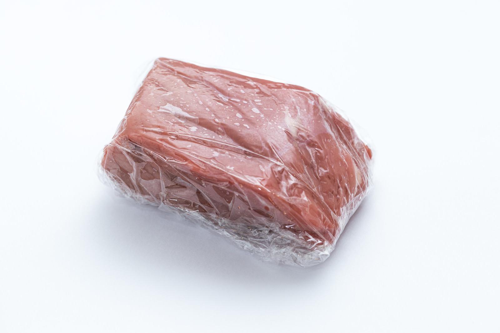 「ラップ肉(常温)」の写真