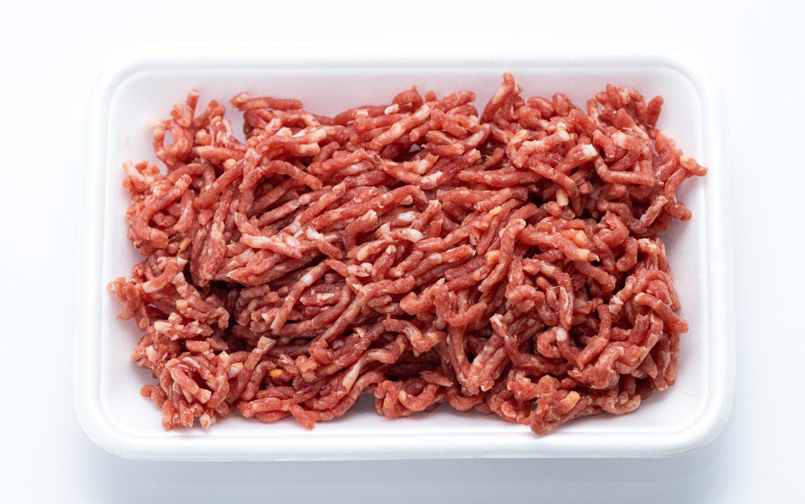 「ミンチ肉(牛・豚)」の写真