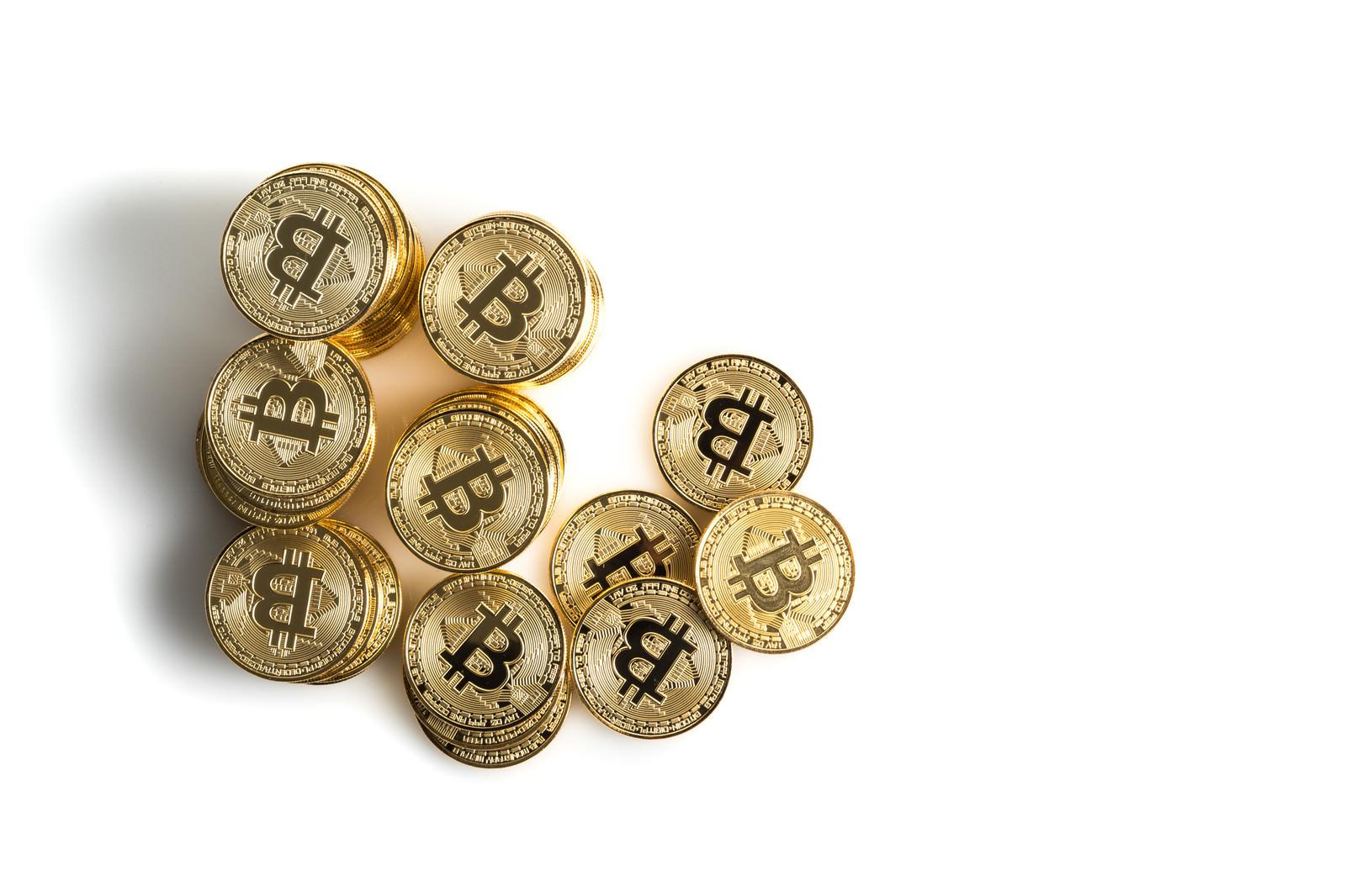 「ビットコイン(BTC)のメダルビットコイン(BTC)のメダル」のフリー写真素材を拡大