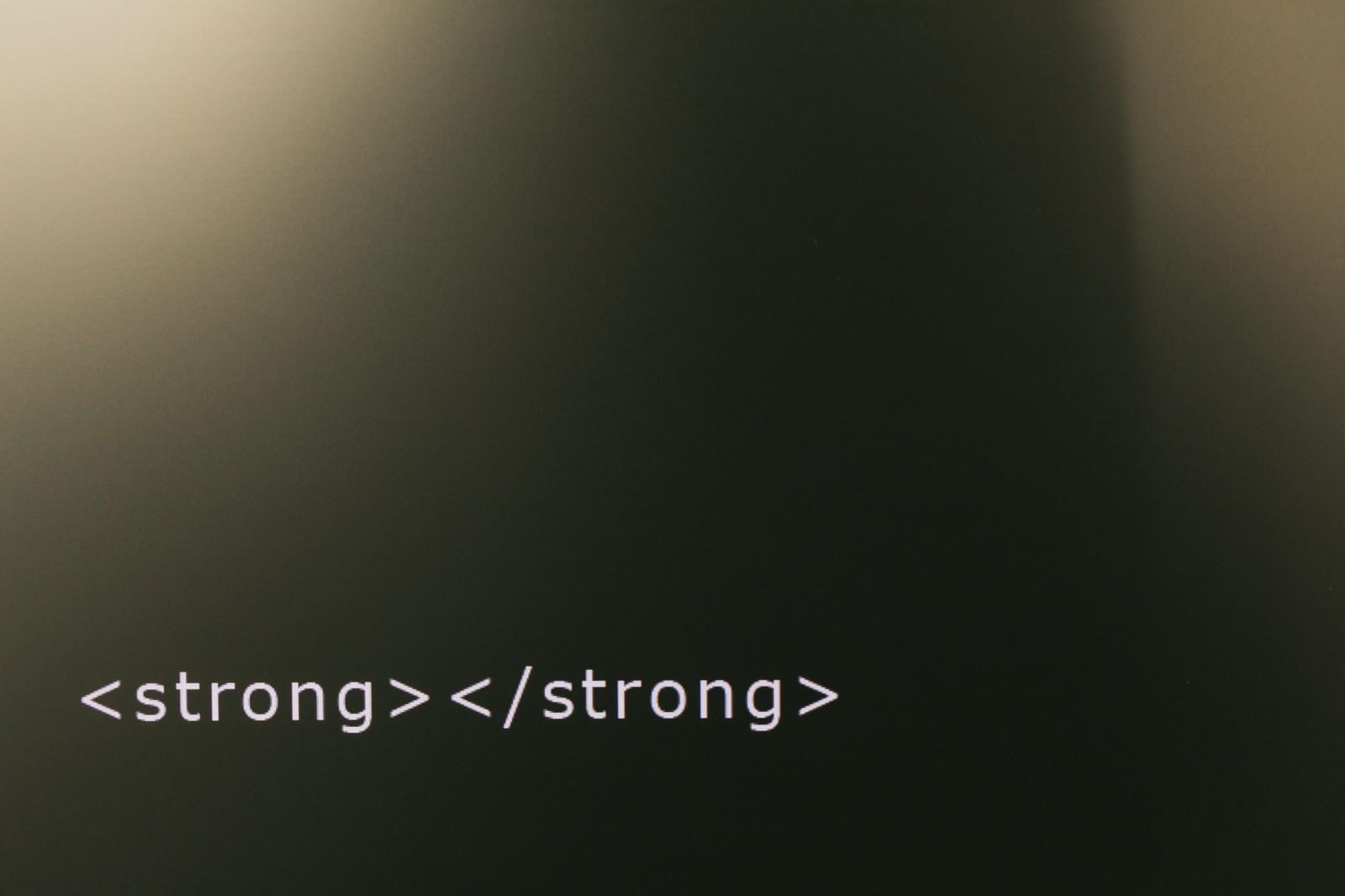 「強調してないストロングタグ強調してないストロングタグ」のフリー写真素材を拡大
