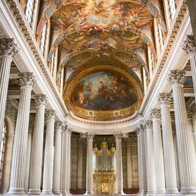「ヴェルサイユ宮殿」の写真素材