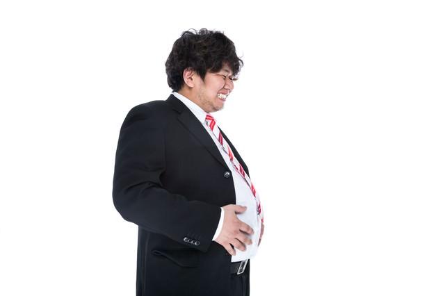「この後、彼の腹部からエイリアンが生まれた」のフリー写真素材