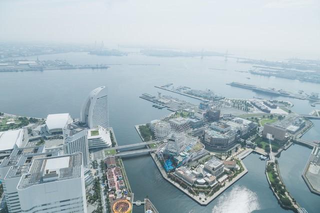 横浜みなとみらいの景観の写真
