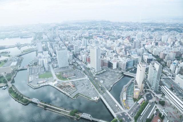 横浜の街並みの写真