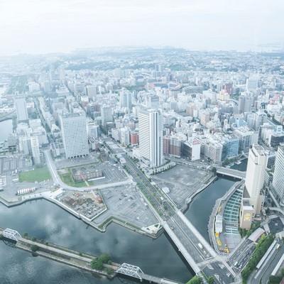 「横浜の街並み」の写真素材