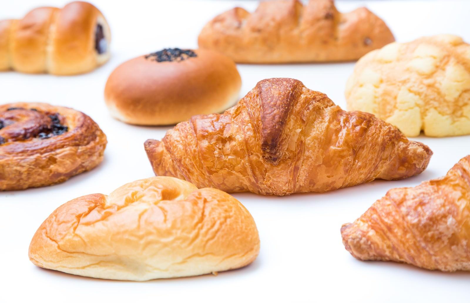 「菓子パン祭り菓子パン祭り」のフリー写真素材を拡大