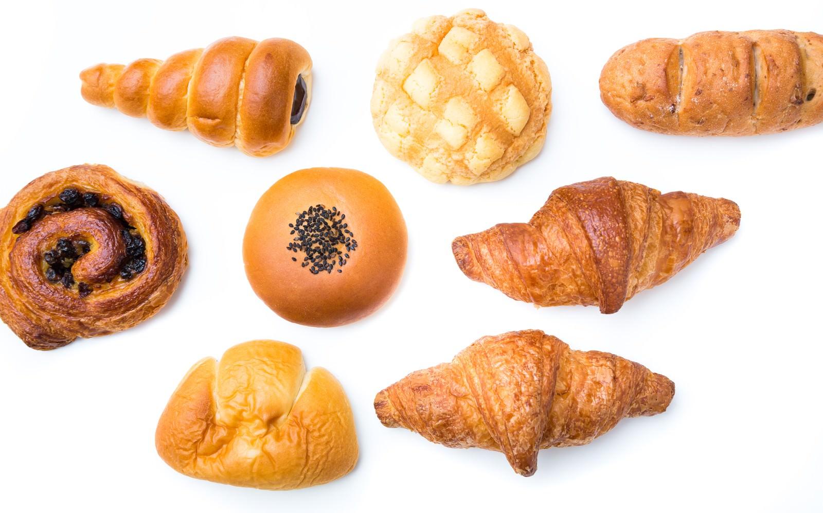菓子パン祭り|ぱくたそフリー素材