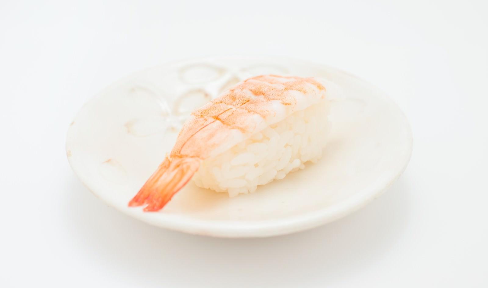 「海老の寿司(一貫)」の写真