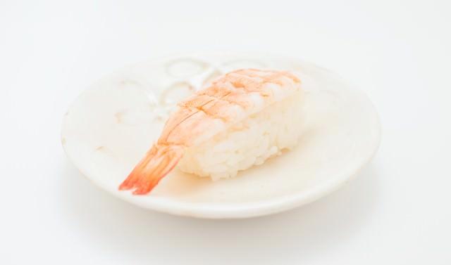 海老の寿司(一貫)の写真