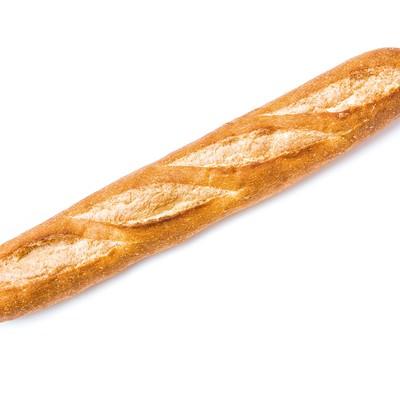 「デザインしやすいフランスパン」の写真素材