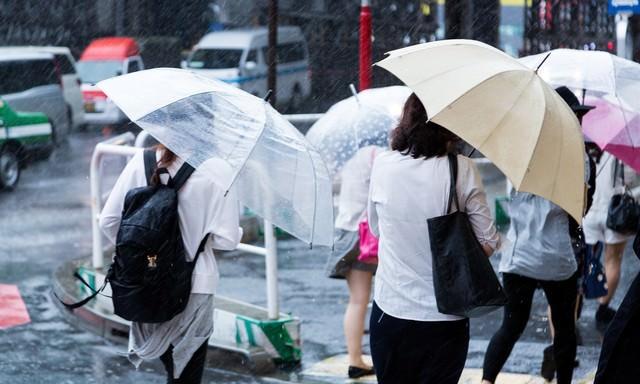 ゲリラ豪雨の写真