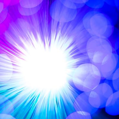 「光が集る」の写真素材
