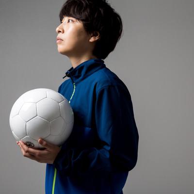 サッカーボールを持って練習場に来たら本日貸し切りだったの写真