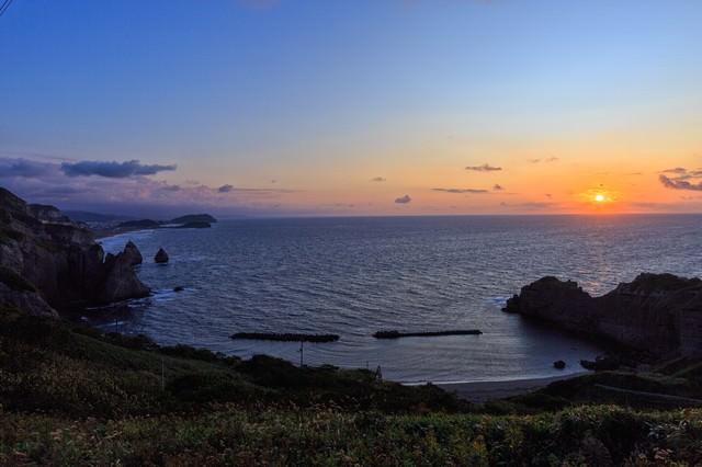 室蘭トッカリショの朝の写真