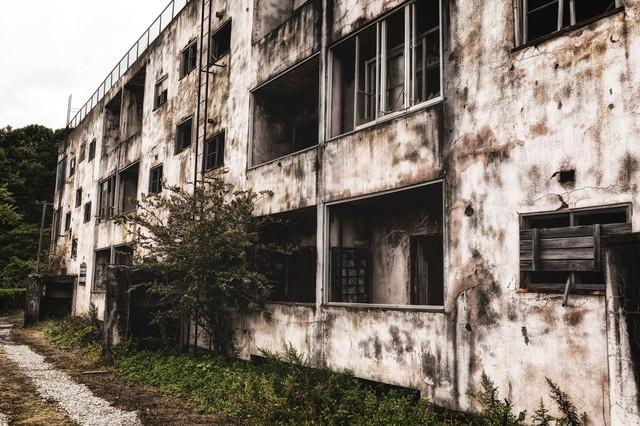 廃アパートの写真
