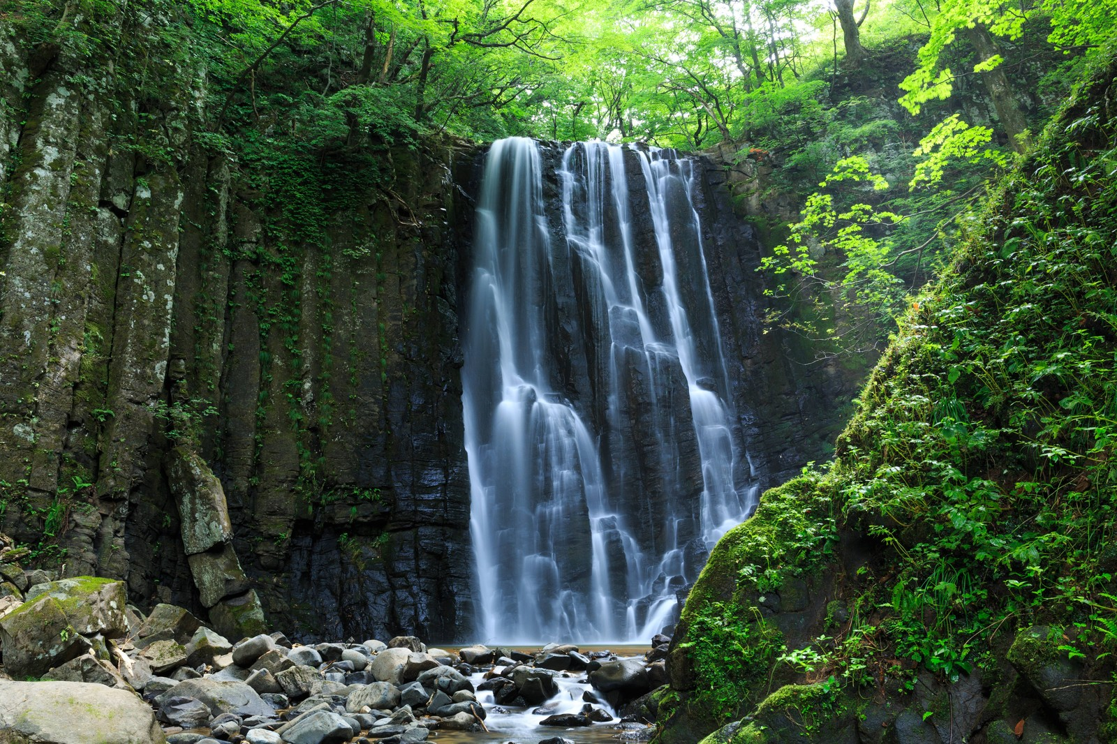 「亀田不動滝(秋田県)」の写真