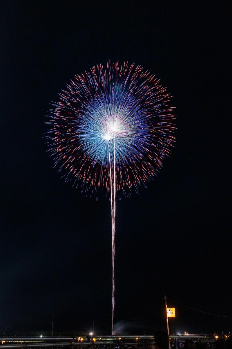 「夜空を彩る大輪の花」の写真