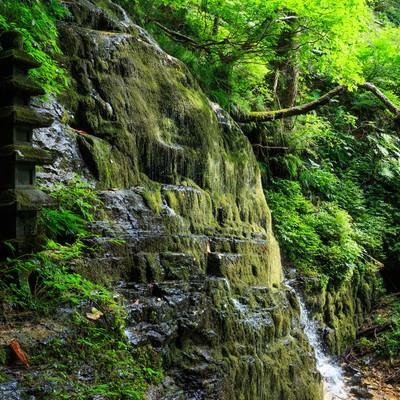 霊場滝の沢(秋田県)の写真