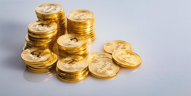 ビットコイン大量保有の写真