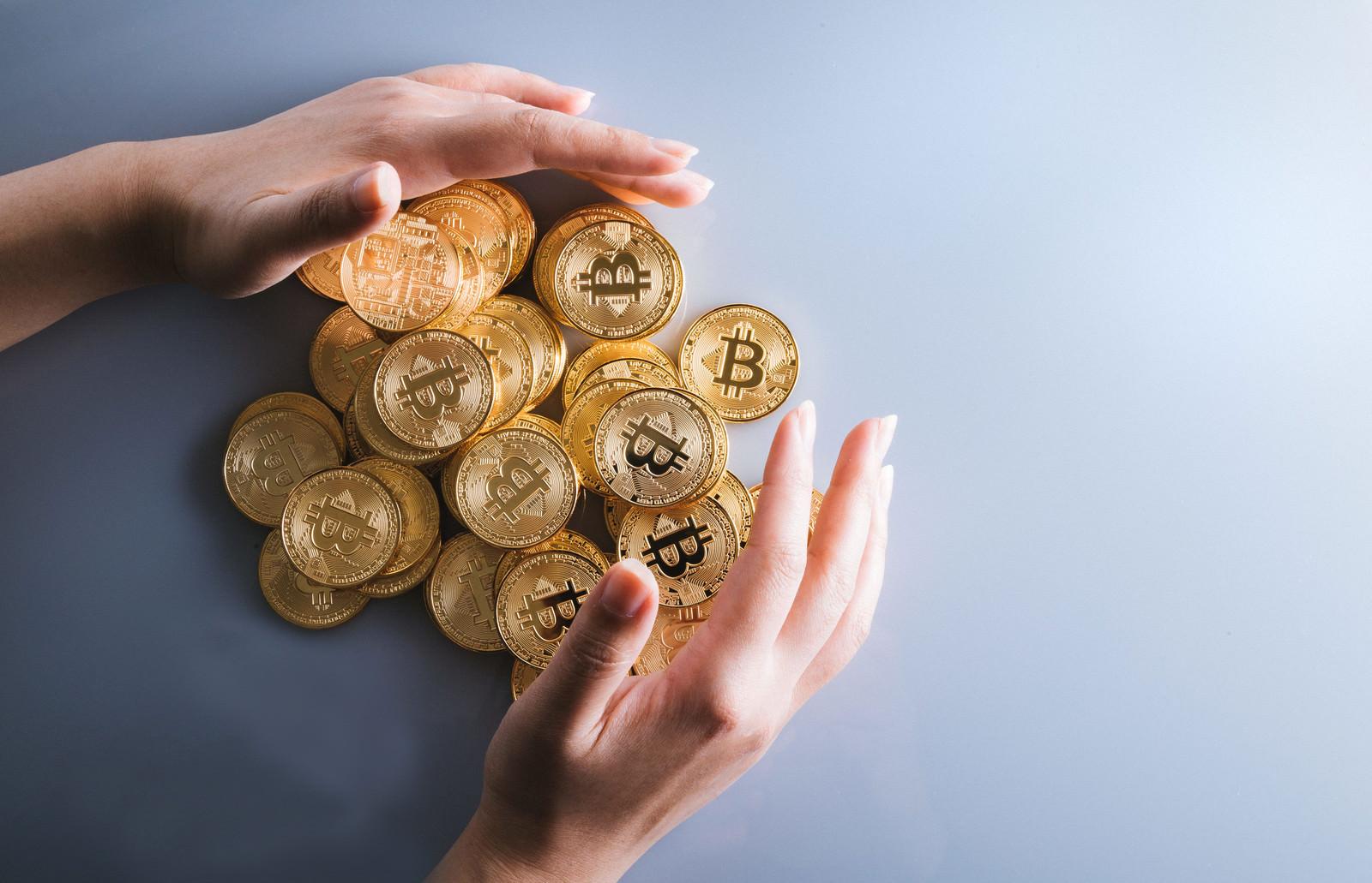 「ビットコインで資産防衛」の写真