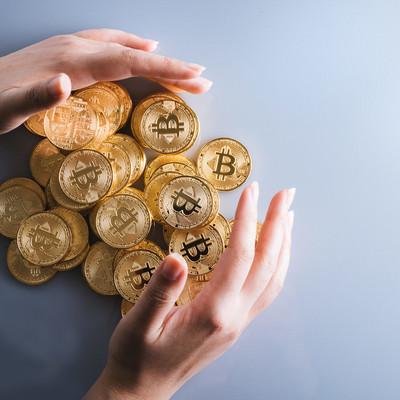 ビットコインで資産防衛の写真