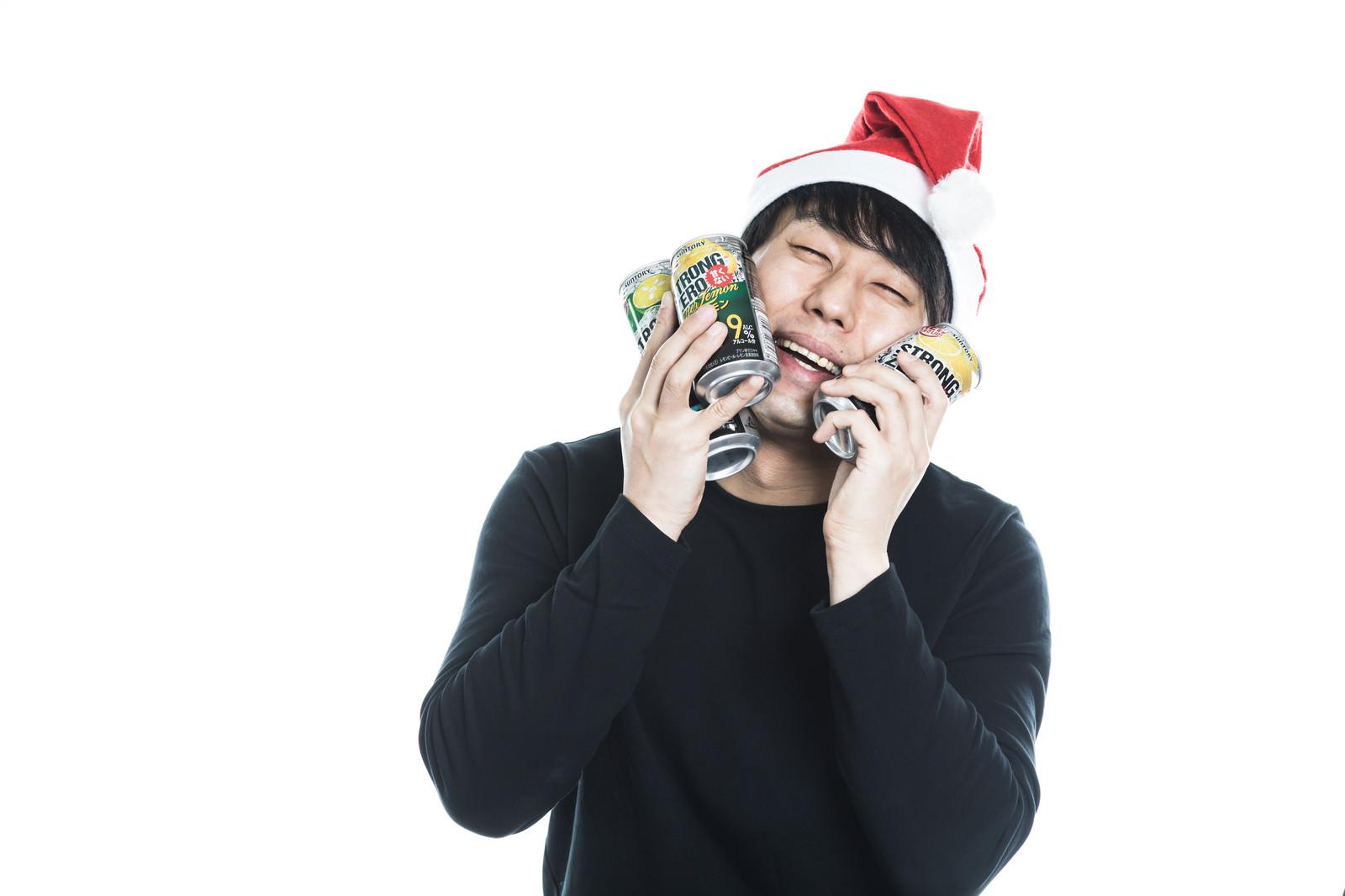 「クリスマスも寂しくないよ」の写真[モデル:大川竜弥]