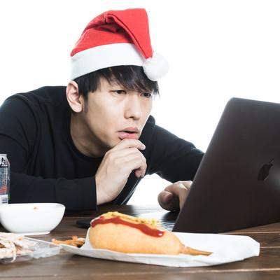 クリスマスは既読スルーばかりの写真