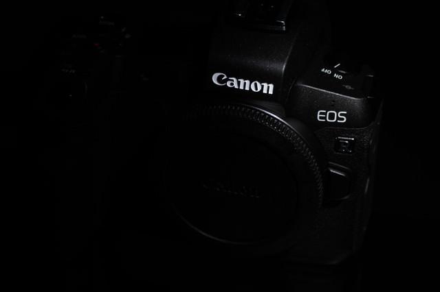 ミラーレス一眼レフカメラ レンズ未装着ボディ(CANON EOS R)の写真