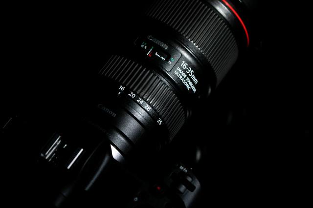 16-35mm のLレンズの写真