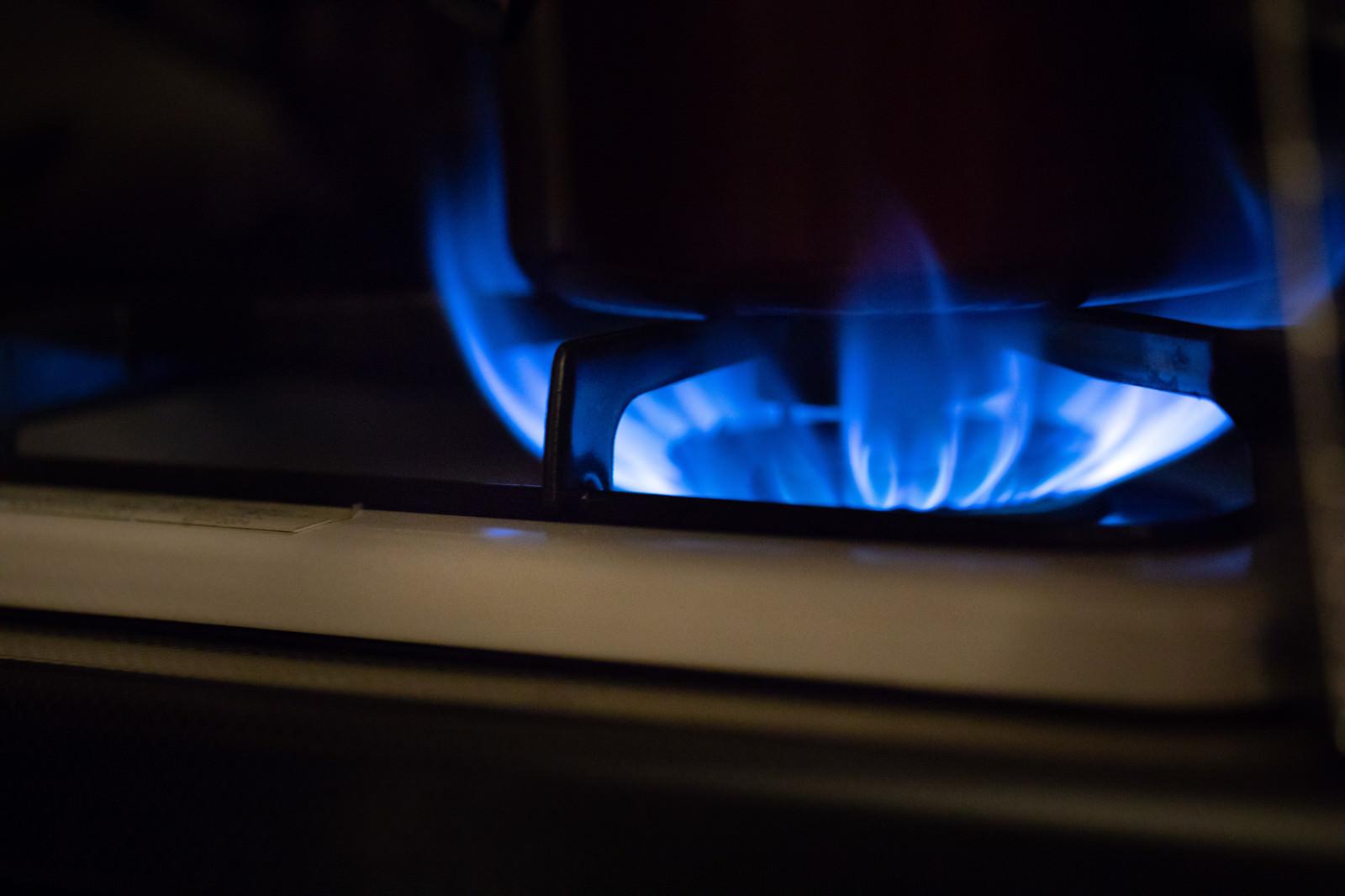 「停電時にガス台の火を消し忘れる」の写真