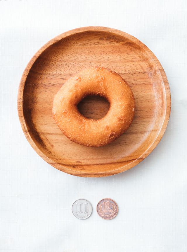 110円ドーナッツの写真