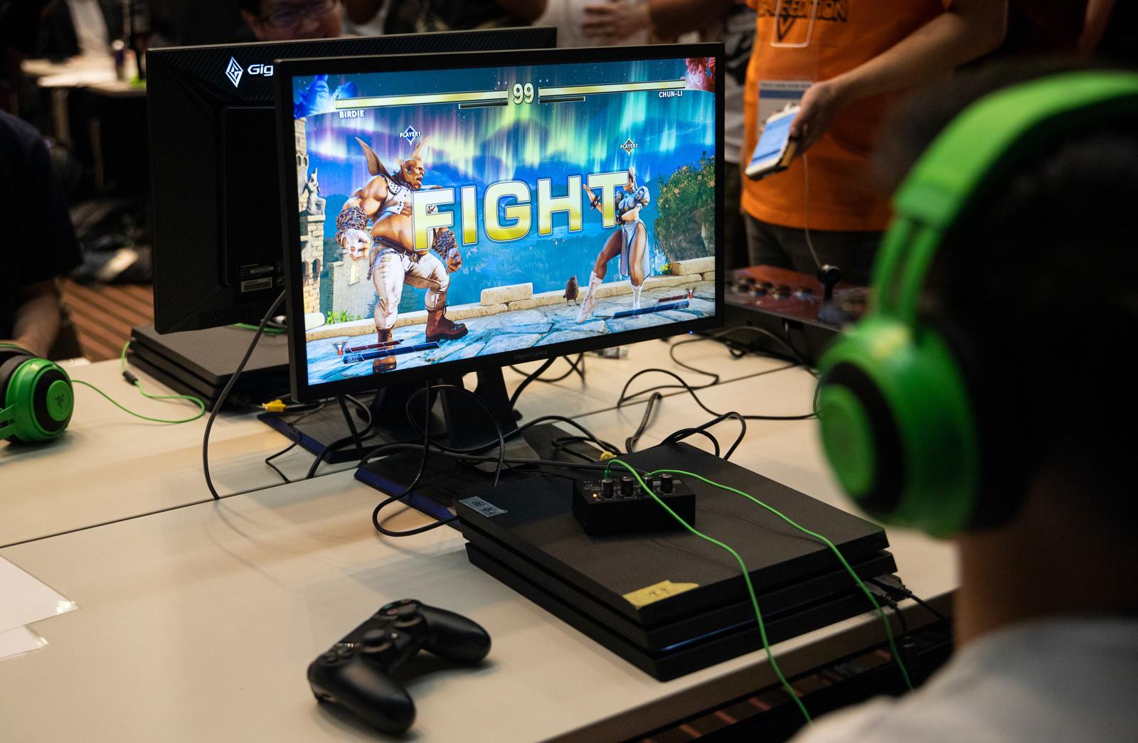 「対戦スタート「FIGHT」 - CAPCOM Pro Tour 2019 アジアプレミア」の写真