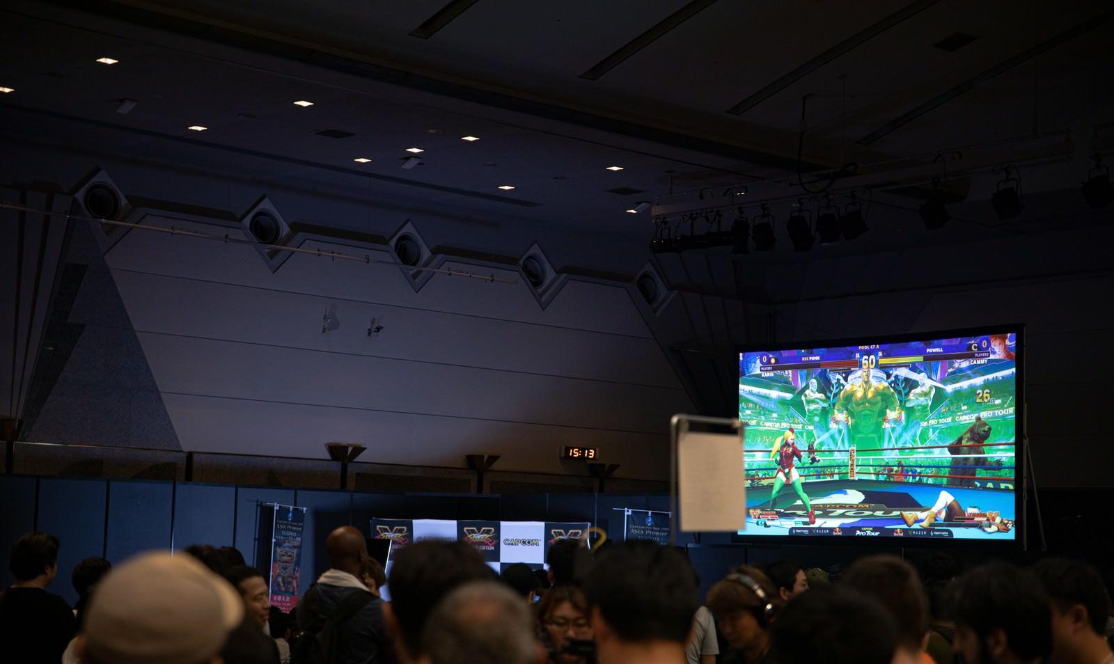 「大きな会場で予選大会を実施 - CAPCOM Pro Tour 2019 アジアプレミア」の写真