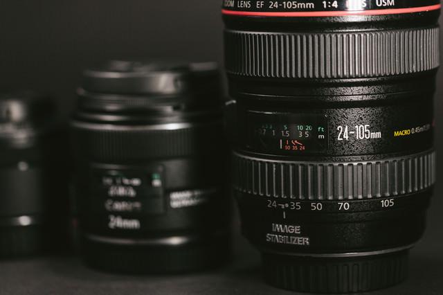24-105mmの標準ズームレンズの写真