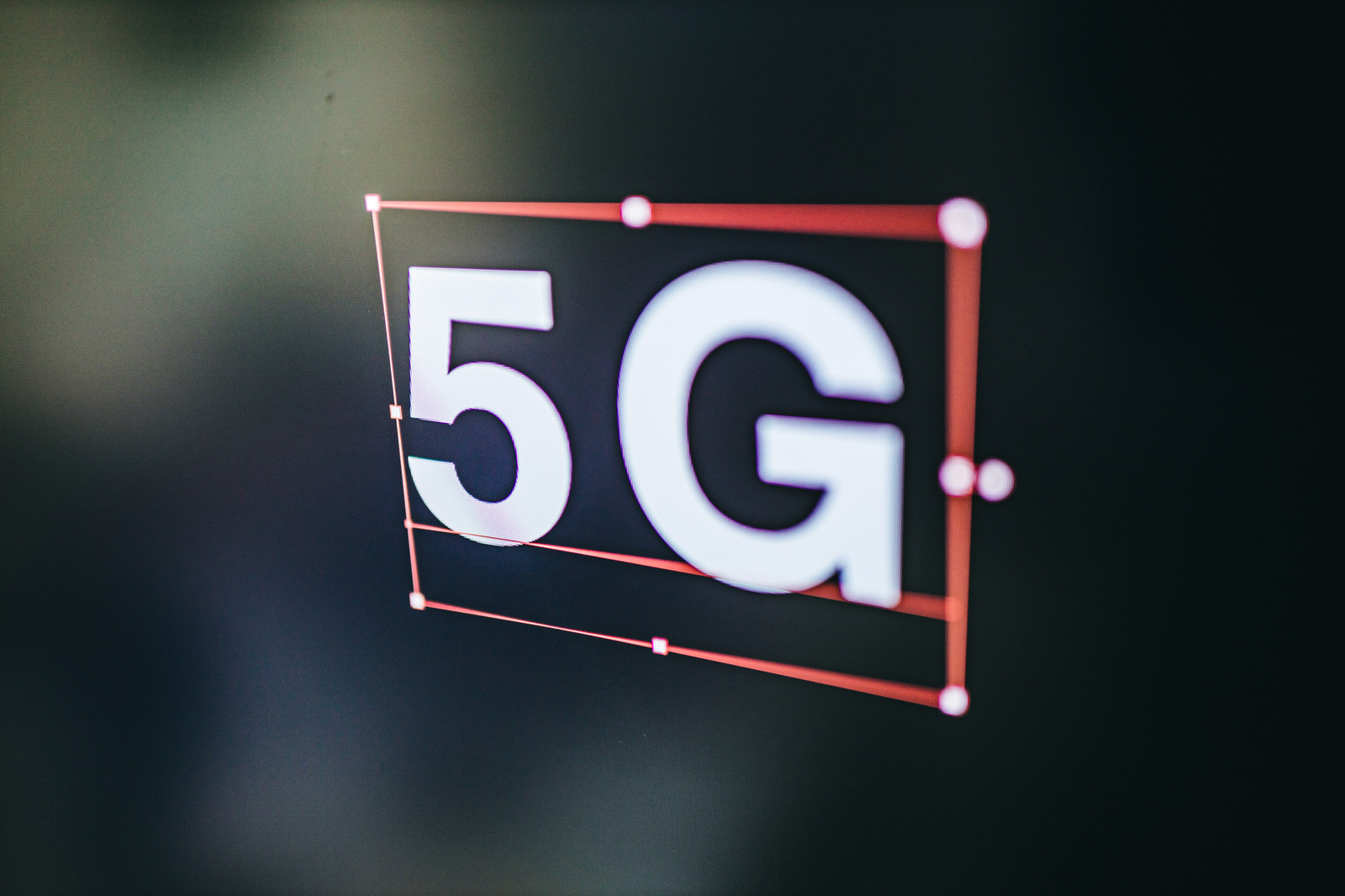 「「5G」を選択」の写真