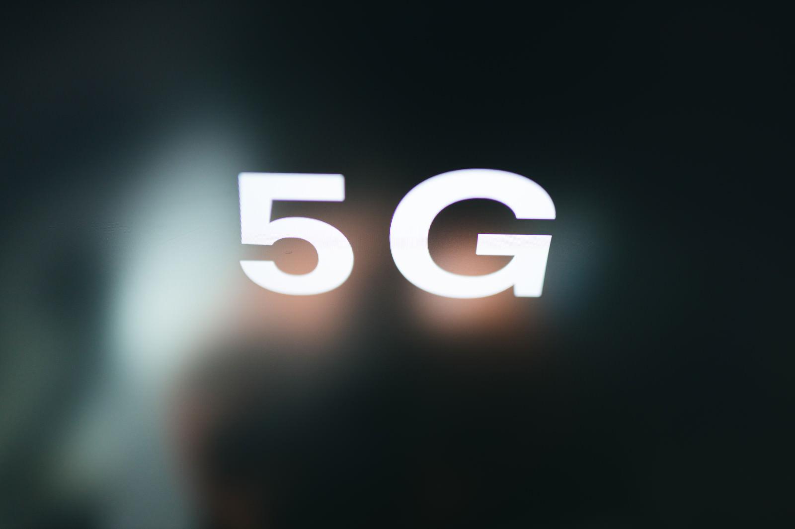 「5G(5thGeneration)」の写真