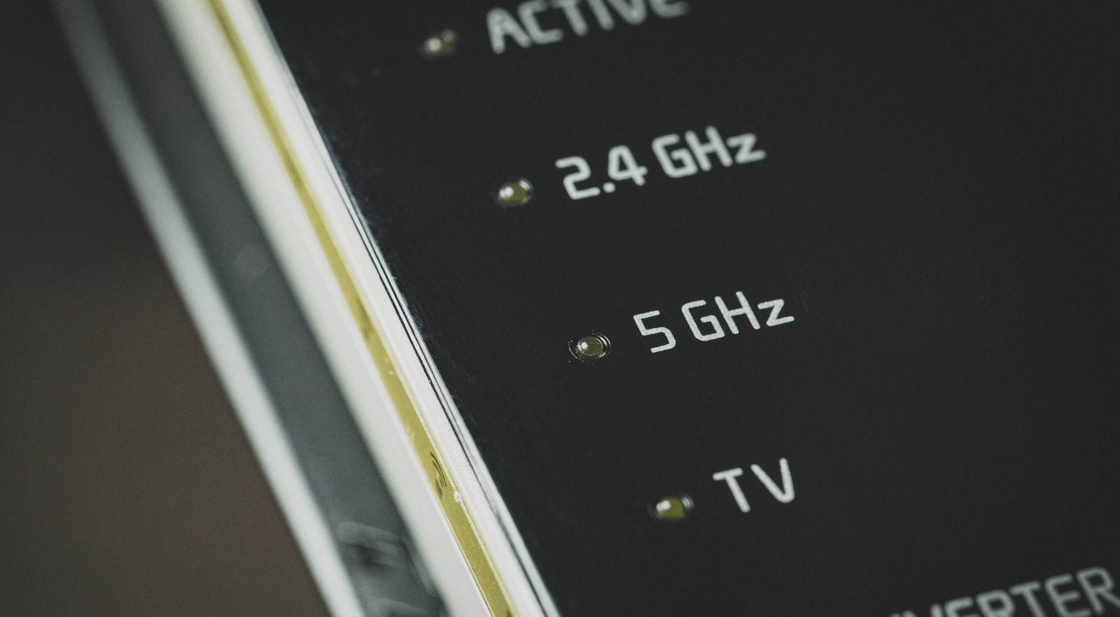 「ルータの無線5GHz」の写真