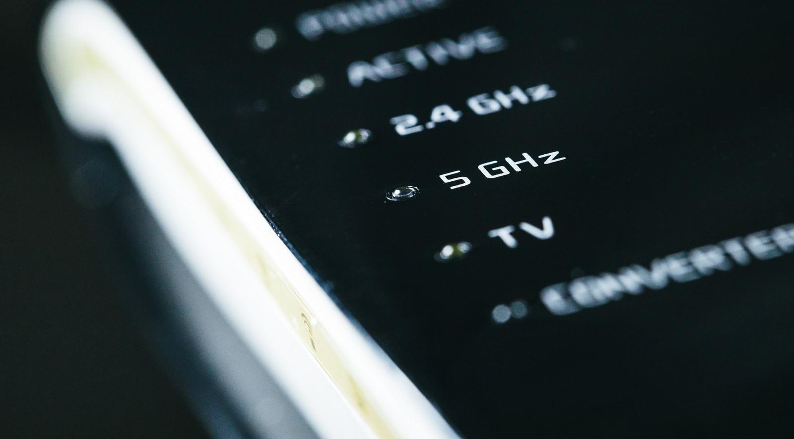「無線Wi-Fiの5G帯(5GHz)」の写真