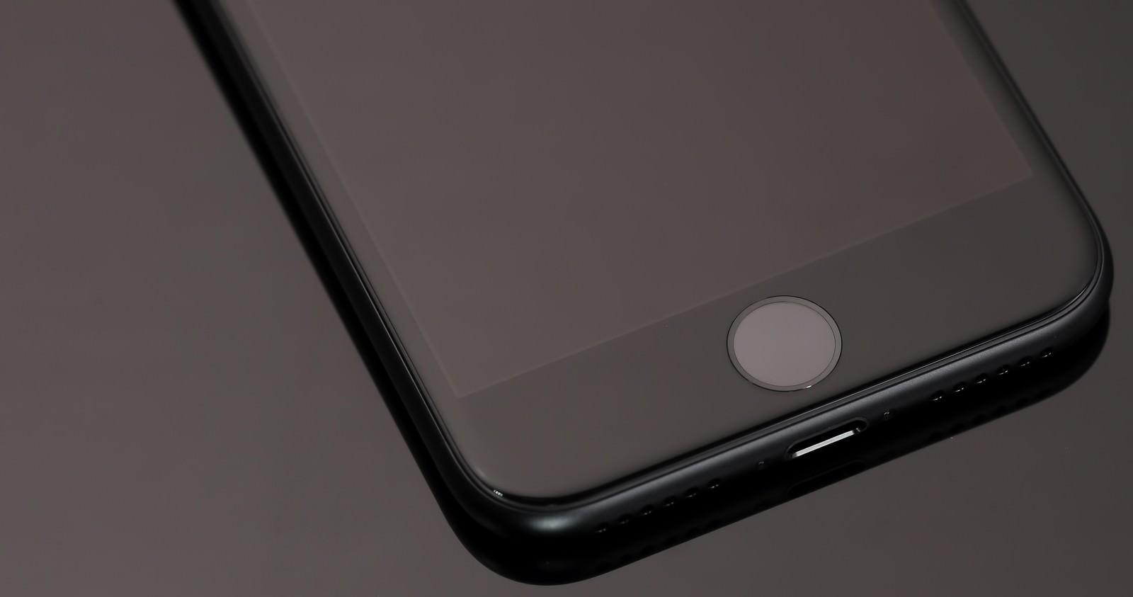 「スマートフォンの感圧タッチ」の写真