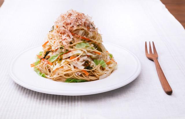 炭水化物も食べながら痩せたい人のための「キャベツ大盛りダイエットパスタ 」の写真