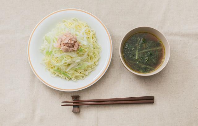 スパイスの香味と酸味が秘訣!「大盛りダイエットカレーつけ麺」の写真