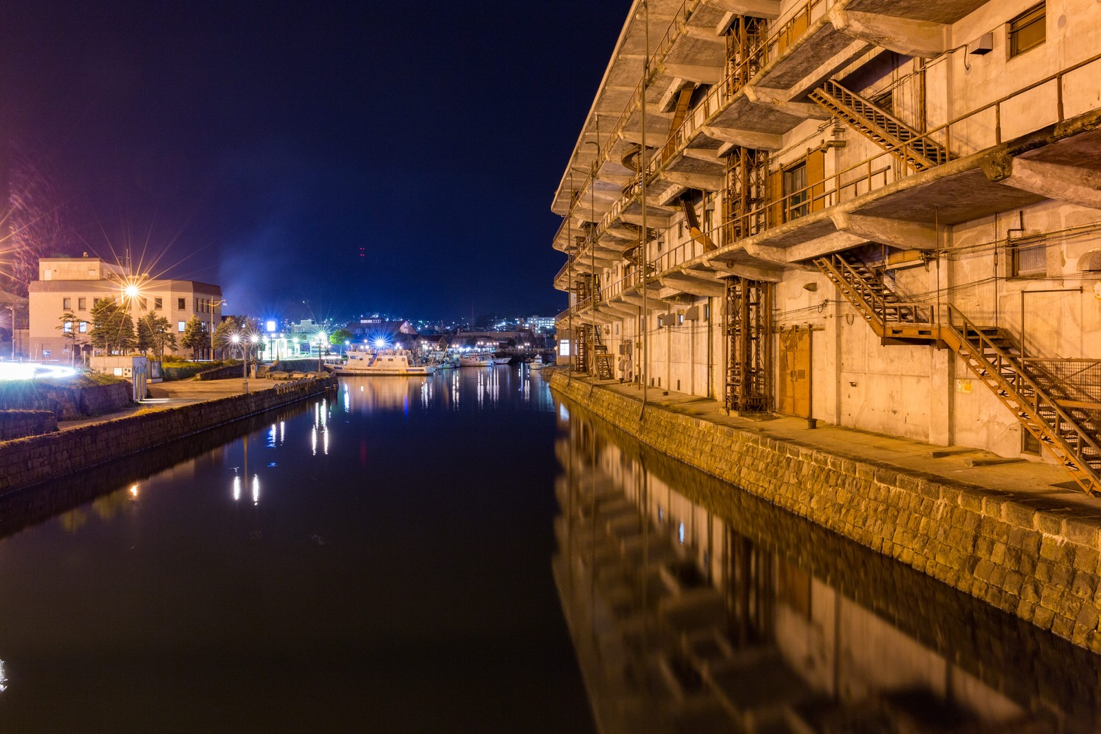 「小樽西運河」の写真