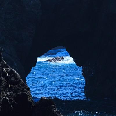 岩穴の写真
