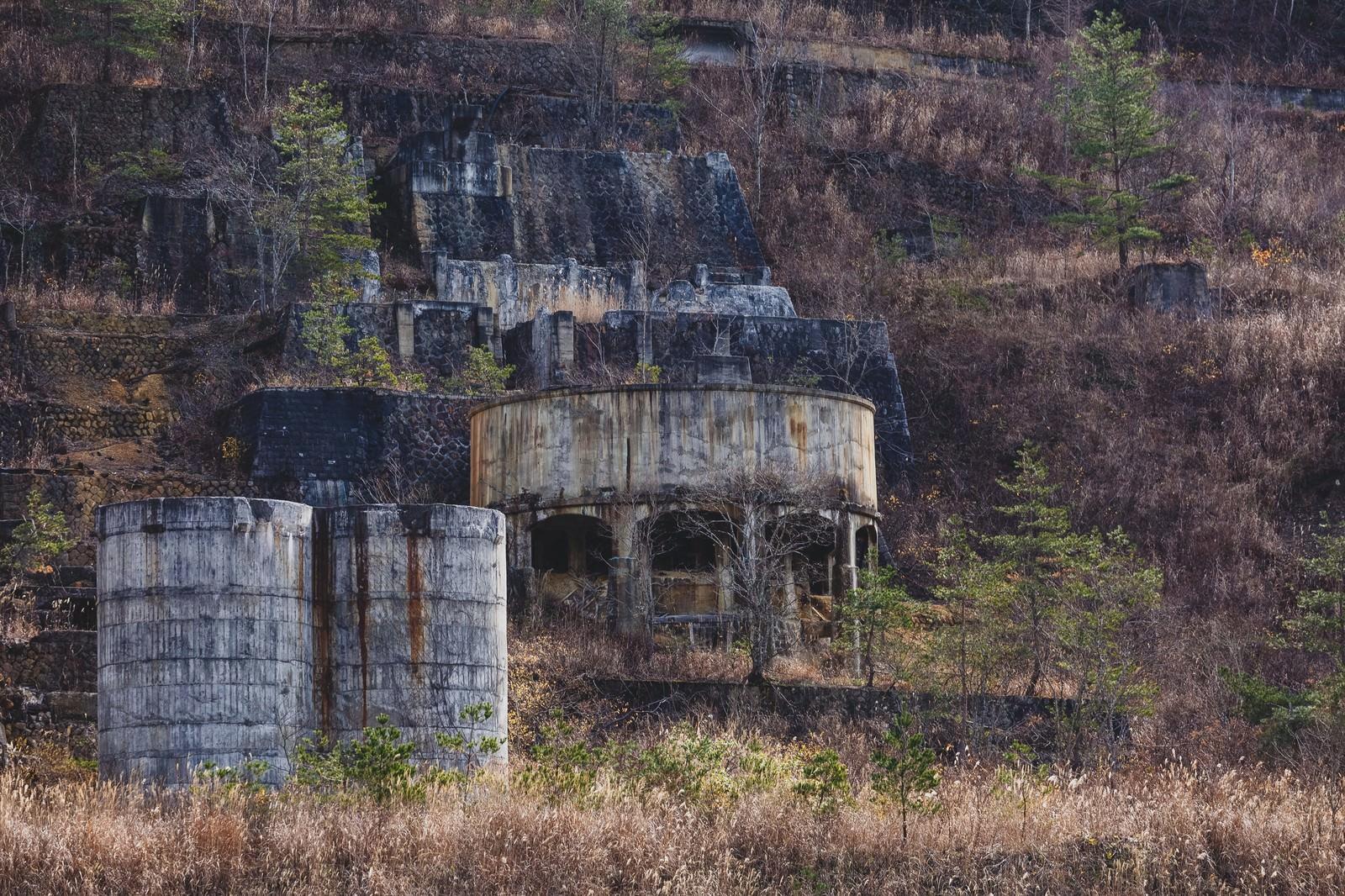 「土畑鉱山跡」の写真