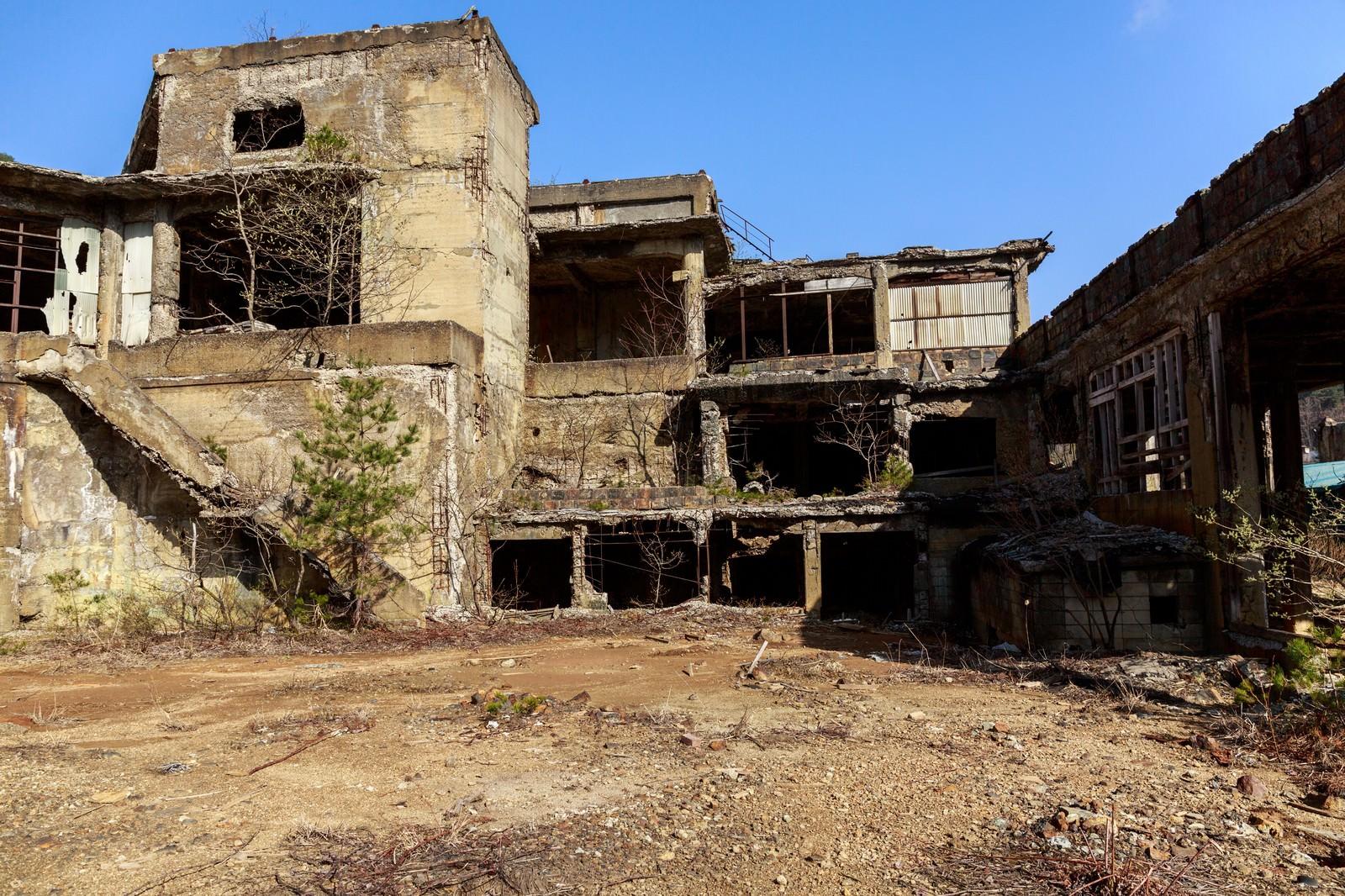 「尾去沢鉱山(おさりざわこうざん)」の写真