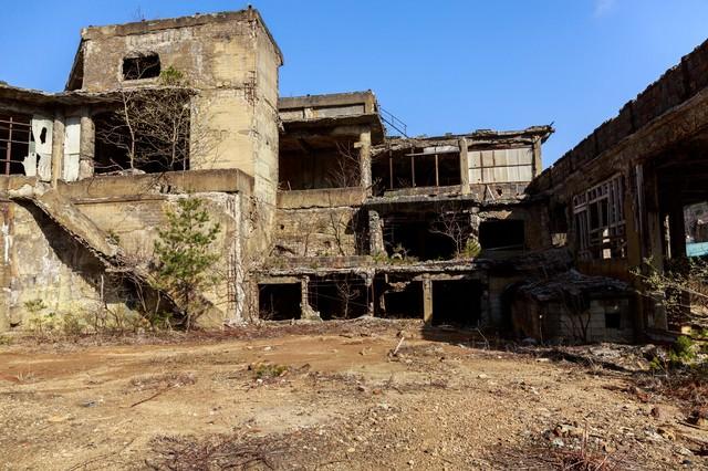尾去沢鉱山(おさりざわこうざん)の写真